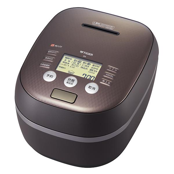 【新品/在庫あり】タイガー 土鍋圧力IH炊飯ジャー(5.5合炊き) JPH-A102-TM マットブラウンTIGER 炊きたて