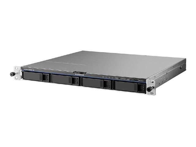 【新品/取寄品/代引不可】LinuxベースOS搭載 法人向け4ドライブ ラックマウントタイプNAS 4TB HDL4-X4-U