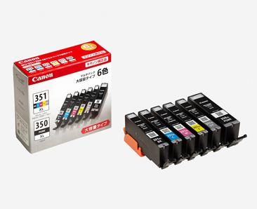 新品 取寄品 インクタンク BCI-351XL BK C M Y GY 大容量 日本正規品 +BCI-350XL マルチパック インクカートリッジ 6MP 売れ筋ランキング BCI-351XL+350XL