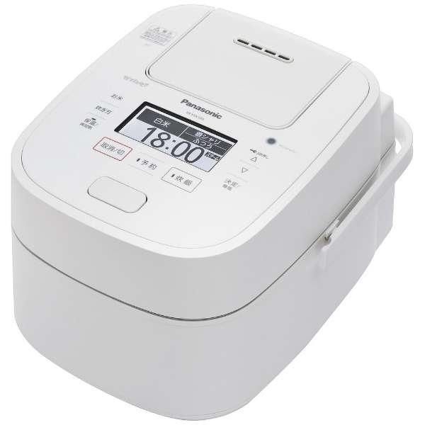 【新品/取寄品】パナソニック 1升 炊飯器 圧力IH式 Wおどり炊き SR-VSX189-W ホワイト Panasonic