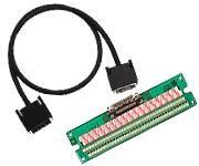 【新品/取寄品/代引不可】68点端子台付ケーブル(DINレール) TLS-632206