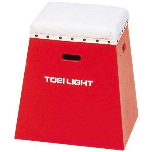 【通販限定/新品/取寄品/代引不可】トーエイライト 入門用カラー跳び箱50 T-2267R 赤 1台入