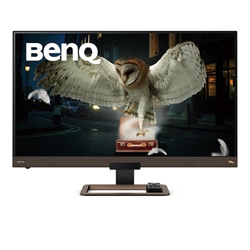 【新品/取寄品/代引不可】BenQ 32インチ4K高画質&高音質モニター EW3280U(3840x2160/メタリックグレーxブラウン) EW3280U
