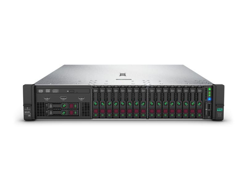 【新品/取寄品/代引不可】DL380 Gen10 Xeon Gold 5118 2.3GHz 1P12C 64GBメモリ ホットプラグ 8SFF(2.5型) P408i-a/2GB 800W電源x2 ラックGSモデル P06422-291