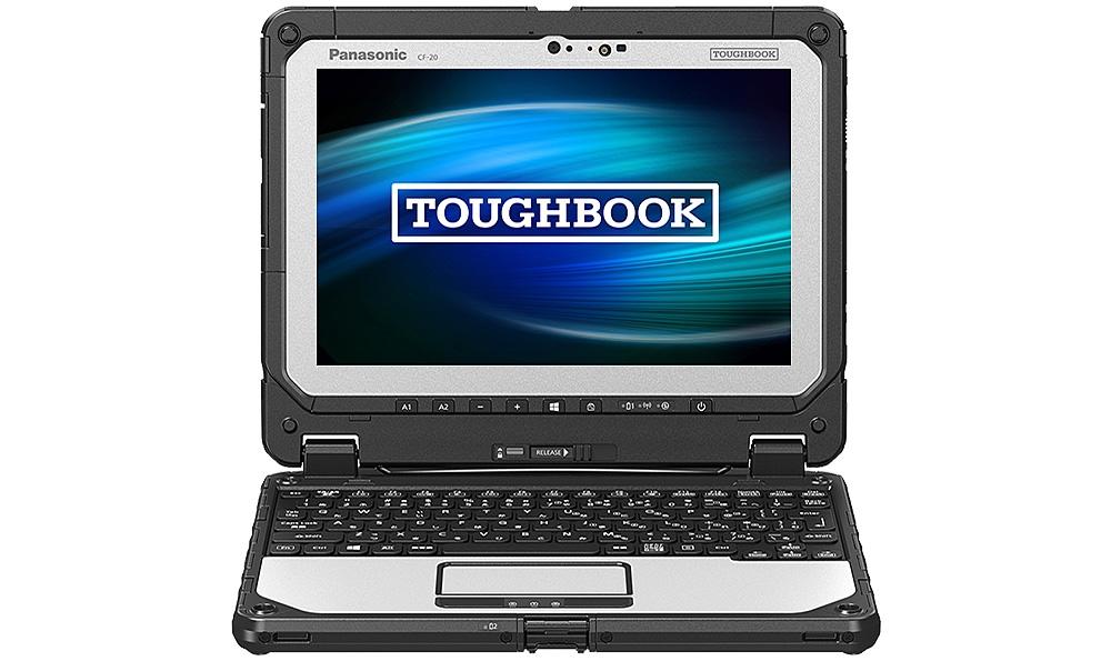 【新品/取寄品/代引不可】TOUGH CF-20(Core i5-7Y57vPro/8GB/SSD256GB/Win10Pro64Bit/10.1型WUXGA/電池10.5H/LTE) CF-20E5097VJ