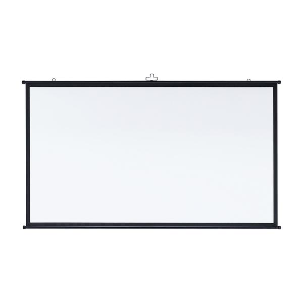 [送料はご注文後にご案内] 【新品/取寄品/代引不可】プロジェクタースクリーン(壁掛け式)(16:9) 80型相当 PRS-KBHD80