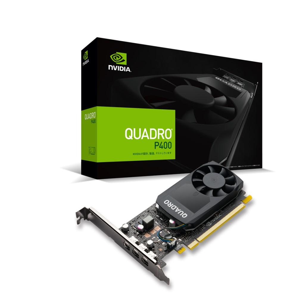 【新品/取寄品/代引不可】NVIDIA Quadro P400 EQP400-2GER2