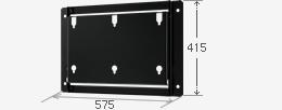 【新品/取寄品/代引不可】壁掛金具(横付用) PN-ZK601