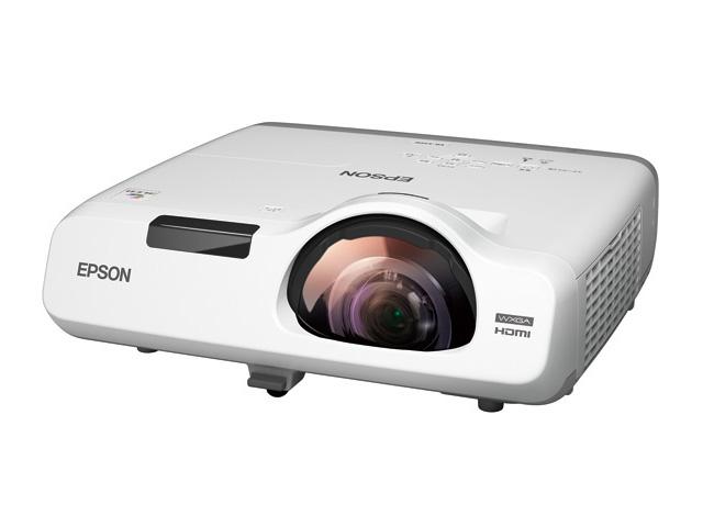 【新品/取寄品/代引不可】ビジネスプロジェクター EB-535W (液晶/3400lm/WXGA/超短焦点モデル/約3.7kg/16Wスピーカー)
