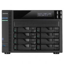 【新品/取寄品】AS6208T AES-NIハードウェア暗号化エンジンを搭載した高性能8ベイNAS