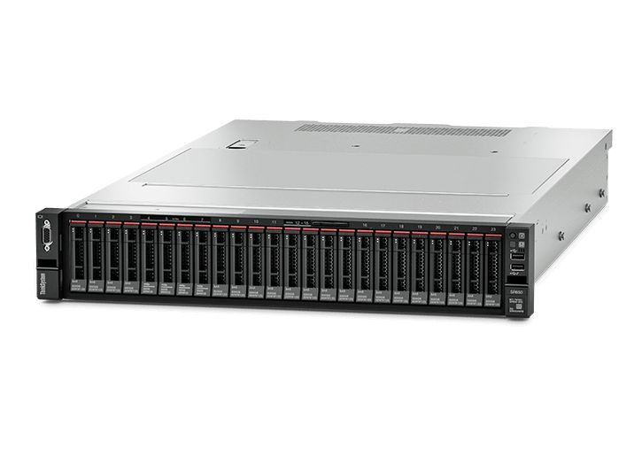 【新品/取寄品/代引不可】ThinkSystem SR650(HS 2.5)/XeonGold6136(12) 3.00GHz-2666MHzx2/PC4-21300 32.0GB(16x2)/RAID-930-8i/10GB-4port-LOM/PO