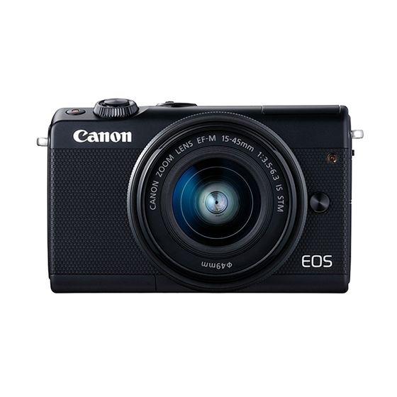 【新品/取寄品】EOS M100 EF-M15-45 IS STM レンズキット ブラック