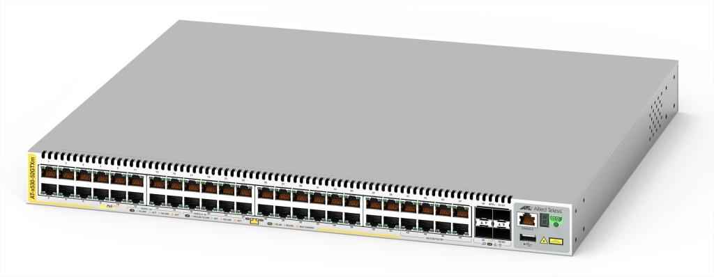 【新品/取寄品/代引不可】AT-x530-52GTXm-Z7 [10/100/1000BASE-Tx40、100/1000/2.5G/5GBASE-Tx8、SFP+スロットx4(デリバリースタンダード保守7年付)] 4043RZ7