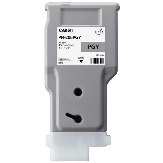 新品 本物 取寄品 代引不可 インクタンク PFI-206PGY フォトグレー 超目玉 5313B001