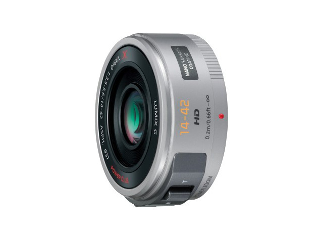 セール開催中最短即日発送 日本正規品 新品 取寄品 デジタル一眼カメラ用交換レンズ H-PS14042-S シルバー