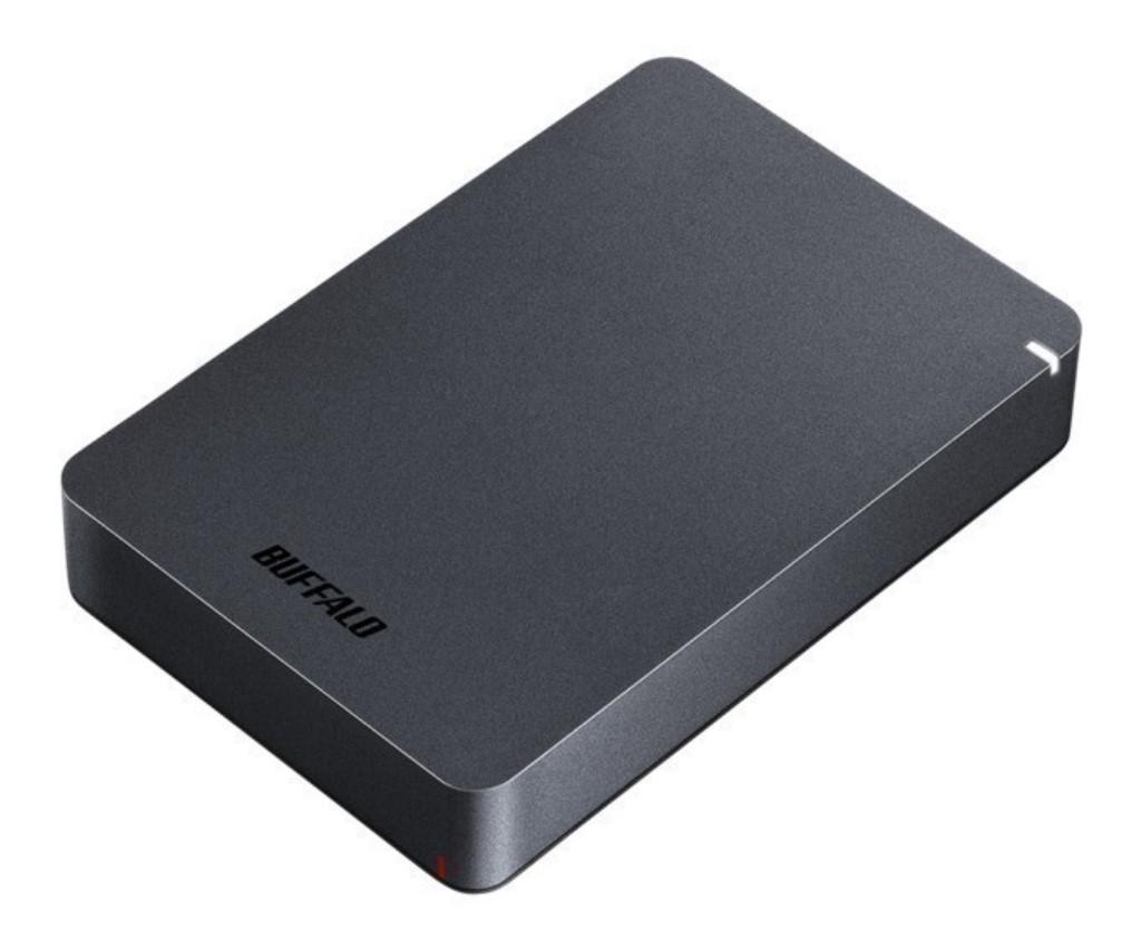 【新品/取寄品】USB3.1(Gen.1)対応 耐衝撃ポータブルHDD 5TB ブラック HD-PGF5.0U3-GBKA
