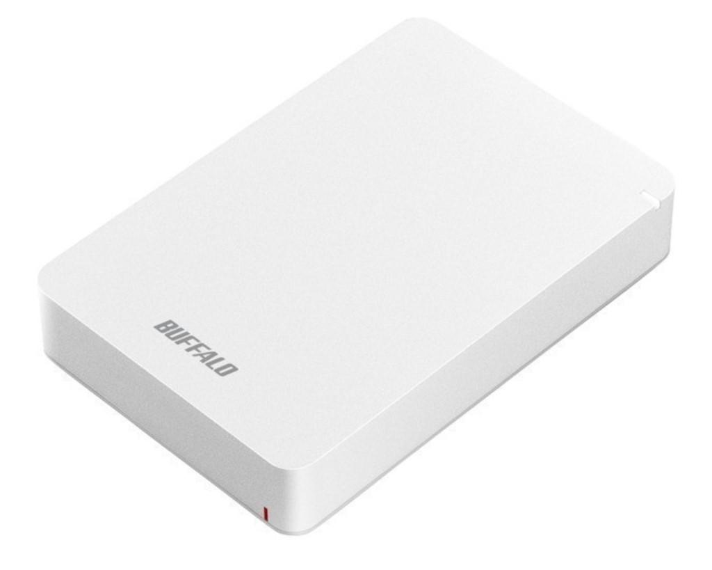 【新品/取寄品】USB3.1(Gen.1)対応 耐衝撃ポータブルHDD 5TB ホワイト HD-PGF5.0U3-GWHA