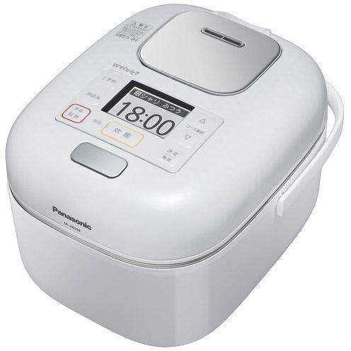 【新品/在庫あり】パナソニック 可変圧力IHジャー炊飯器 Wおどり炊き SR-JW058-W [豊穣ホワイト] [3合炊き]