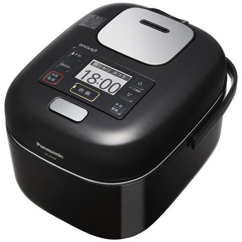 【新品/取寄品】パナソニック 可変圧力IHジャー炊飯器 Wおどり炊き SR-JW058-KK [シャインブラック] [3合炊き]