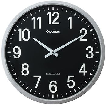 【新品/取寄品/代引不可】電波掛時計 ザラージ黒文字盤 GDK-001K
