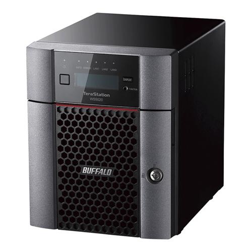 【新品/取寄品/代引不可】Windows Server IoT 2019 for Storage Workgroup Edition搭載 4ベイデスクトップ12TB WS5420DN12W9