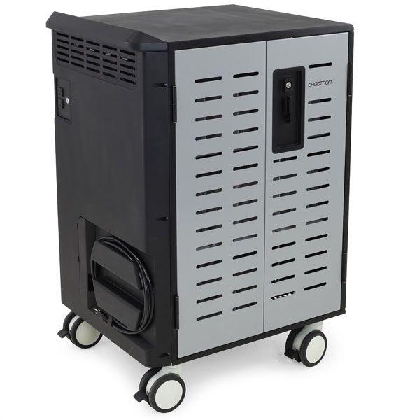 [送料はご注文後にご案内] 【新品/取寄品/代引不可】Zip40充電&管理カート DM40-1008-6