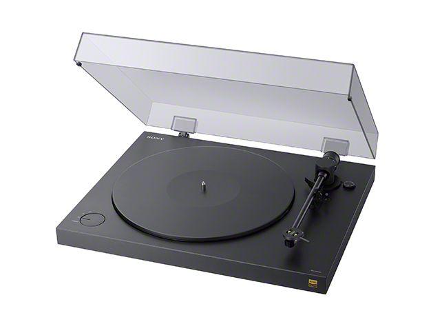 【新品/取寄品/代引不可】ステレオレコードプレーヤー PS-HX500