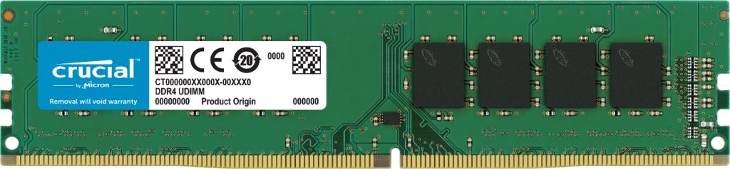 【新品/取寄品/代引不可】32GB DDR4 2666 MT/s(PC4-21300)CL19 DR x8 UDIMM 288pin CT32G4DFD8266