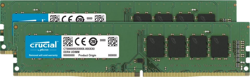 【新品/取寄品/代引不可】64GB Kit(32GBx2)DDR4 2666 MT/s(PC4-21300)CL19 DR x8 UDIMM 288pin CT2K32G4DFD8266
