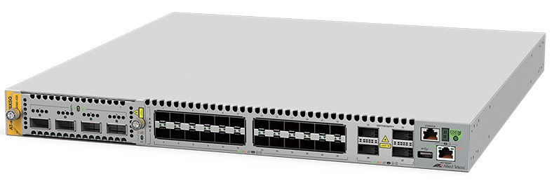 【新品/取寄品/代引不可】AT-x950-28XSQ-T7アカデミック [SFP+スロットx24、40G/100G QSFP+/QSFP28スロットx4(デリバリースタンダード保守7年付)] 3865RT7