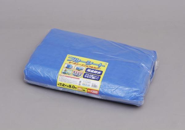 【新品/取寄品】アイリスオーヤマ ブルーシート(約720cm×約900cm) B30-7290 ブルー