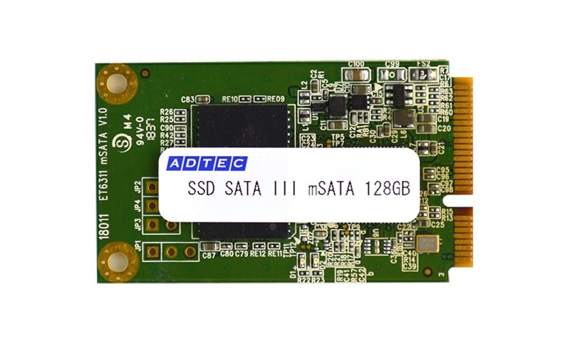【新品/取寄品/代引不可】産業用mSATA SSD 128GB MLC 温度拡張品 CMS12GMITJFSVG