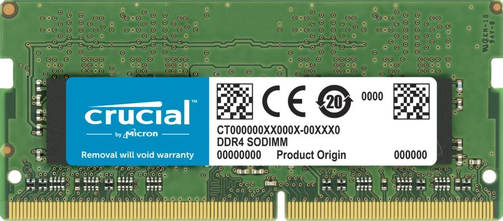 【新品/取寄品/代引不可】32GB DDR4 2666 MT/s(PC4-21300)CL19 DR x8 SODIMM 260pin CT32G4SFD8266