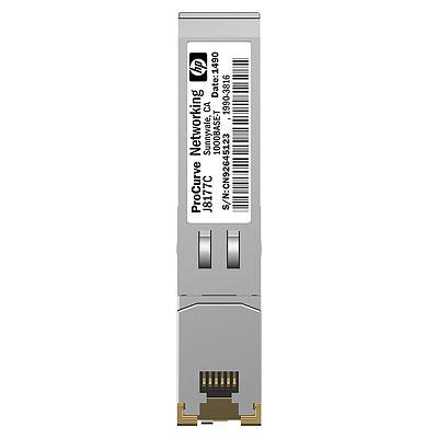 【新品/取寄品/代引不可】HP X120 1G SFP RJ45 T Transceiver JD089B