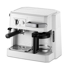 【新品/取寄品】デロンギ コンビコーヒーメーカー BCO410J-W [ホワイト]