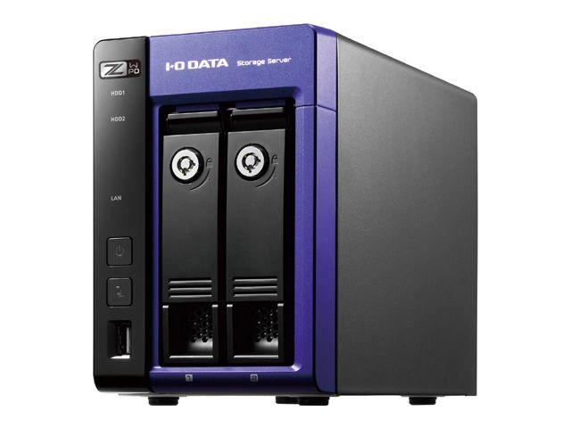 【新品/取寄品/代引不可】Windows Storage Server 2016 Standard Edition/Intel Celeron搭載 2ドライブNAS 16TB HDL-Z2WP16D