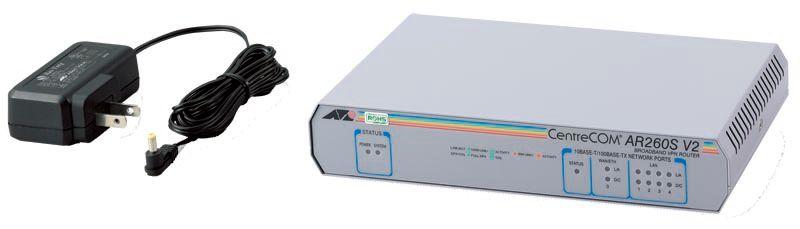 【新品/取寄品/代引不可】CentreCOM AR260S V2-Z7 [WAN:10/100BASE-TXx1、LAN:10/100BASE-TXx4(デリバリースタンダード保守7年付)] 0059RZ7