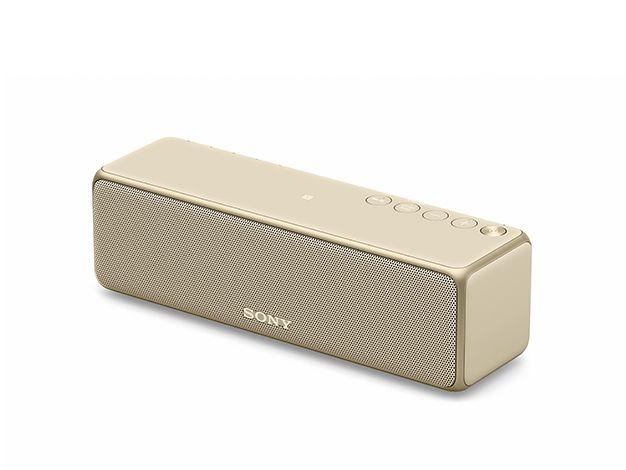 【新品/取寄品】SRS-HG10-N(ペールゴールド) ハイレゾ対応ワイヤレスポータブルスピーカー