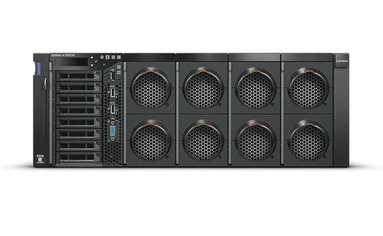 【新品/取寄品/代引不可】System x3850 X6/XeonE7-8860v4(18) 2.20GHz-1866MHzx2/PC4-19200 64.0GB(16x4)(Chipkill)/RAID-M5210/POW(900Wx2)/OSなし/