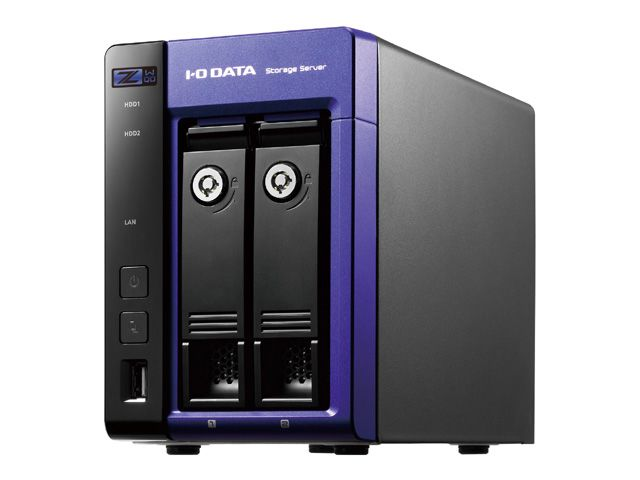 【新品/取寄品/代引不可】Windows Storage Server 2016 Workgroup Edition/Intel Celeron搭載 2ドライブNAS8TB HDL-Z2WQ8D