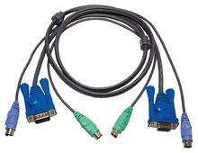 【新品/取寄品/代引不可】KVM用ケーブル10m(HD15M/MD6M/MD6M-HD15F/MD6F/MD6F) 2L-1010P/ATEN