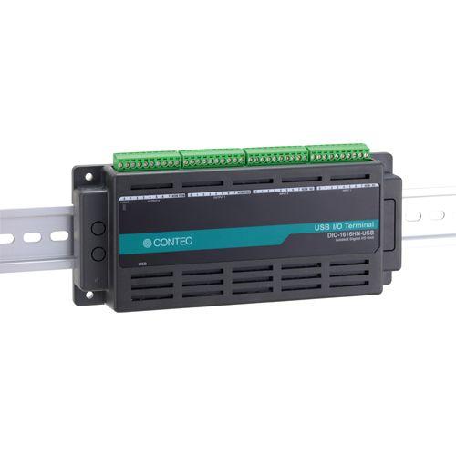 【新品/取寄品/代引不可】USB対応Nシリーズ 絶縁型デジタル入出力ユニット(16ch DI、 16ch DO) DIO-1616HN-USB