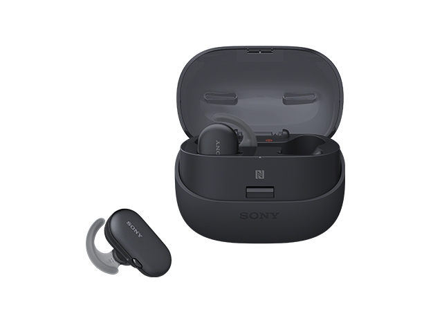【新品/取寄品】WF-SP900-B(ブラック) ワイヤレスステレオヘッドセット ブラック(左右独立型ワイヤレス)