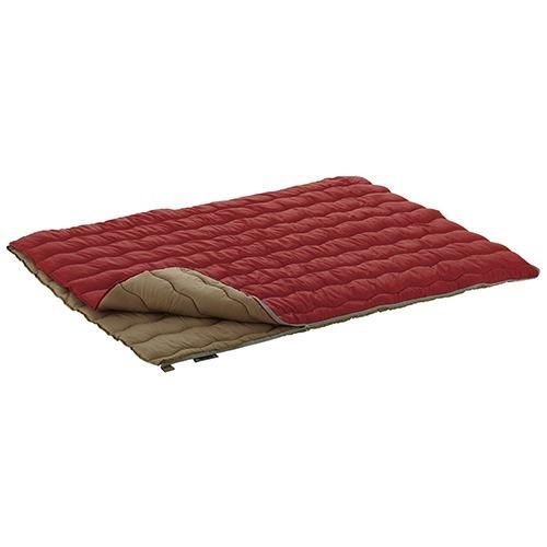 【通販限定/新品/取寄品/代引不可】ロゴス 2in1・Wサイズ丸洗い寝袋・0 2枚入