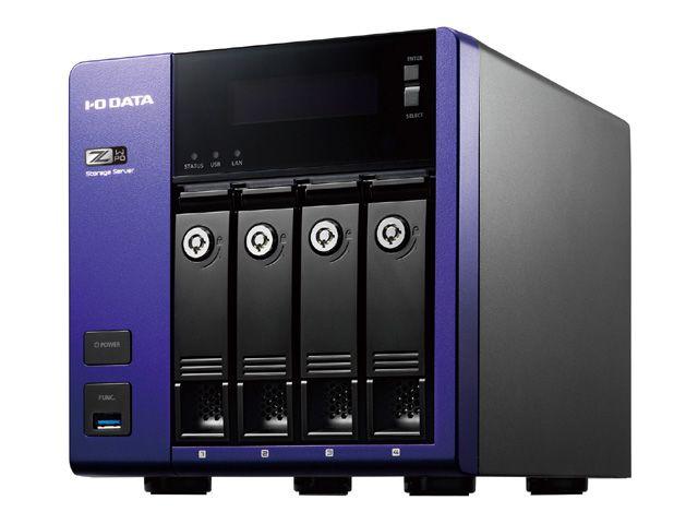 【新品/取寄品/代引不可】Windows Storage Server 2016 Standard Edition/Intel Celeron搭載 4ドライブNAS 32TB HDL-Z4WP32D