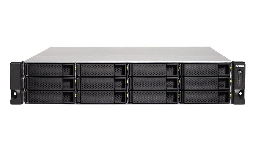 【新品/取寄品/代引不可】TS-1253BU-RP-4G 120TB搭載モデル 2Uラック型 NAS ニアライン HDD10TBx12 TS-1253BU-RP/120TB-U
