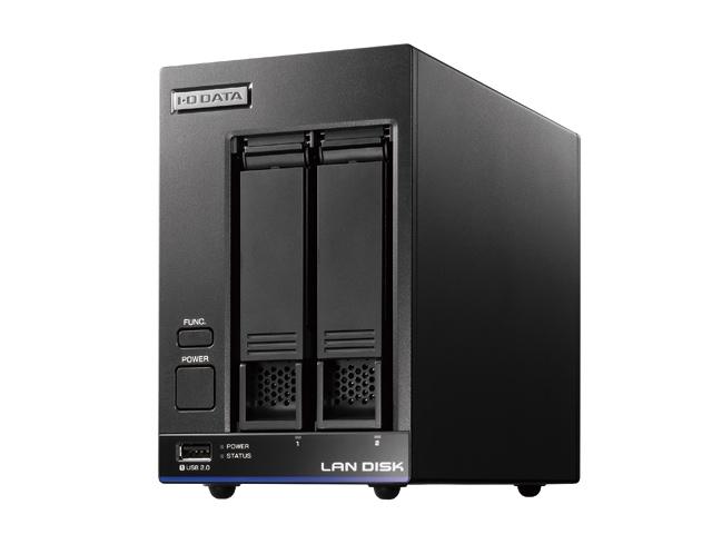 【新品/取寄品/代引不可】Dropbox Businessライセンス付き 法人向け2ドライブNAS 4TB HDL2-X4/DB1
