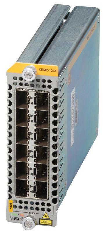 【新品/取寄品/代引不可】AT-XEM2-12XS-Z5 [SFP/SFP+スロットx12(デリバリースタンダード保守5年付)] 3616RZ5