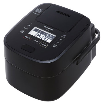 新品 25%OFF 無料サンプルOK 取寄品 パナソニック スチーム可変圧力IHジャー炊飯器 ブラック Wおどり炊き SR-VSX188-K 1升炊き