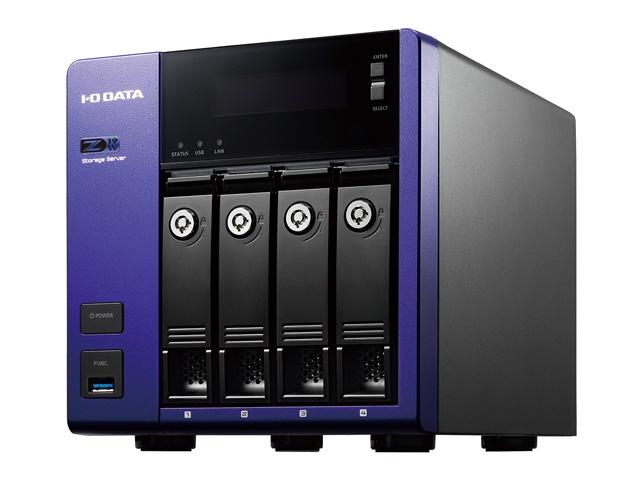 【新品/取寄品/代引不可】Windows Server IoT 2019 for Storage Workgroup/Celeron搭載4ドライブNAS 16TB HDL4-Z19WCA-16